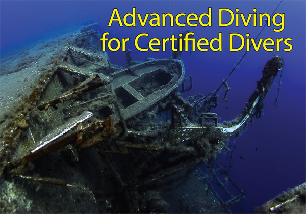 Cool Divers Latchi - advanced diving for Certified Divers